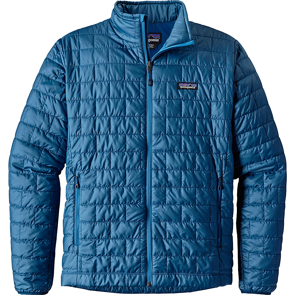 Patagonia Mens Nano Puff Jacket XS - Big Sur Blue - Patagonia Mens Apparel - Apparel & Footwear, Men's Apparel