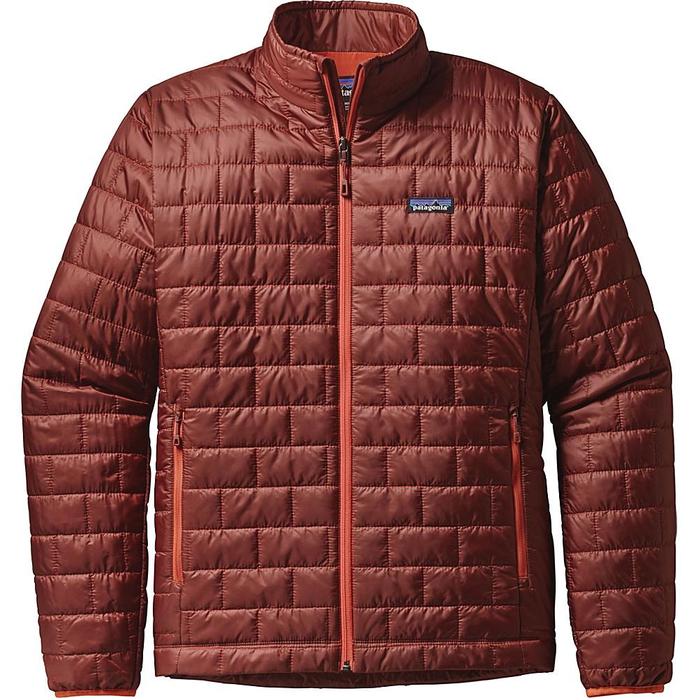 Patagonia Mens Nano Puff Jacket 2XL - Cinder Red - Patagonia Mens Apparel - Apparel & Footwear, Men's Apparel
