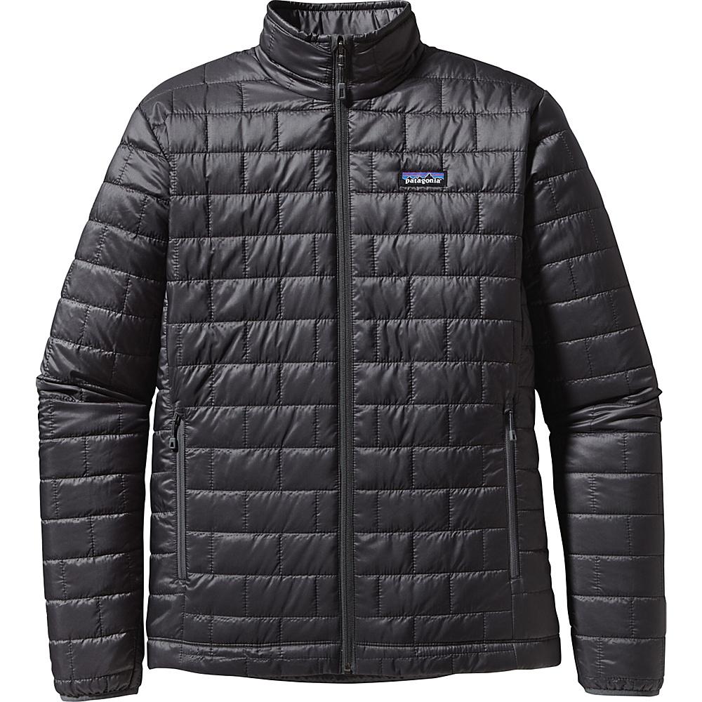 Patagonia Mens Nano Puff Jacket S - Forge Grey - Patagonia Mens Apparel - Apparel & Footwear, Men's Apparel