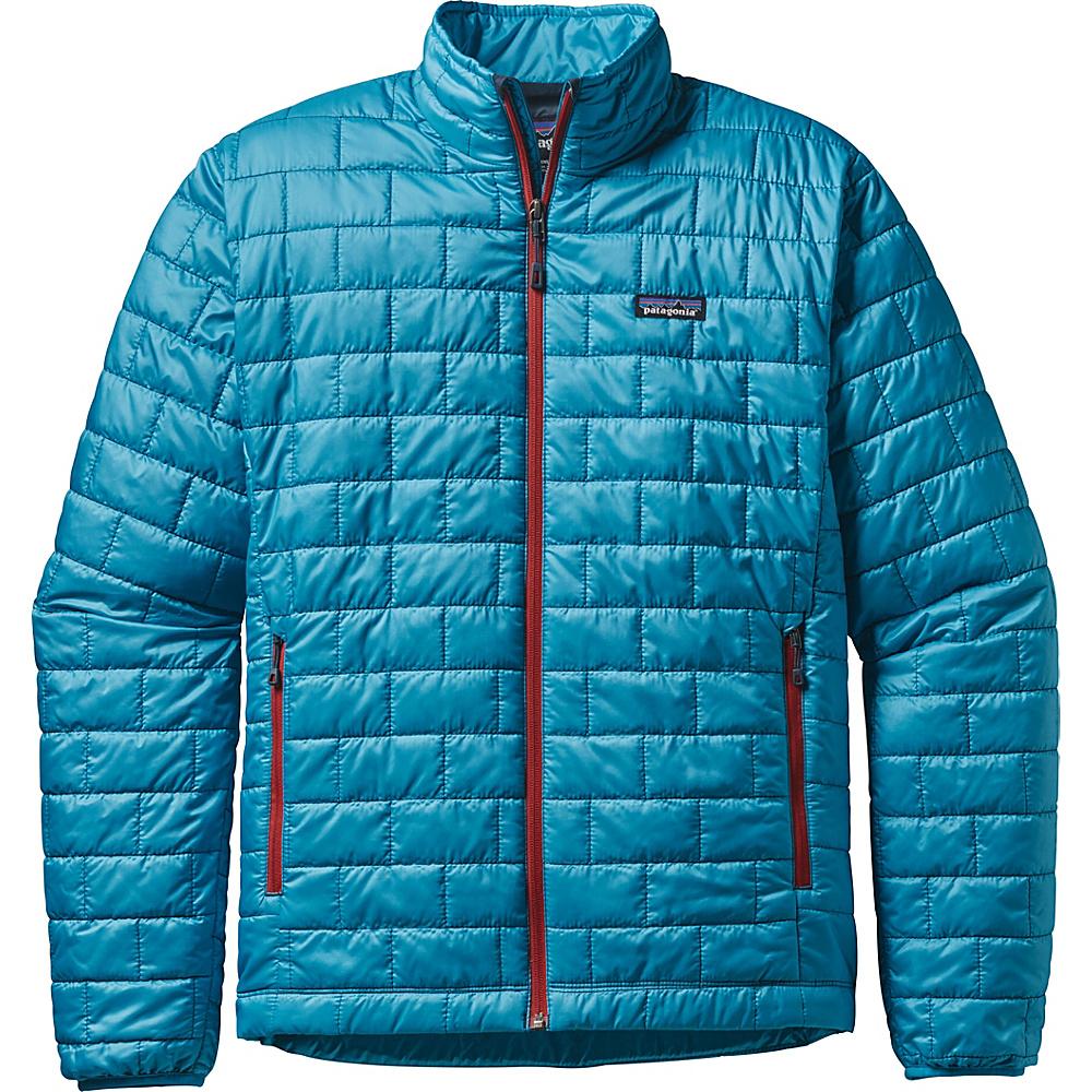 Patagonia Mens Nano Puff Jacket XL - Grecian Blue - Patagonia Mens Apparel - Apparel & Footwear, Men's Apparel