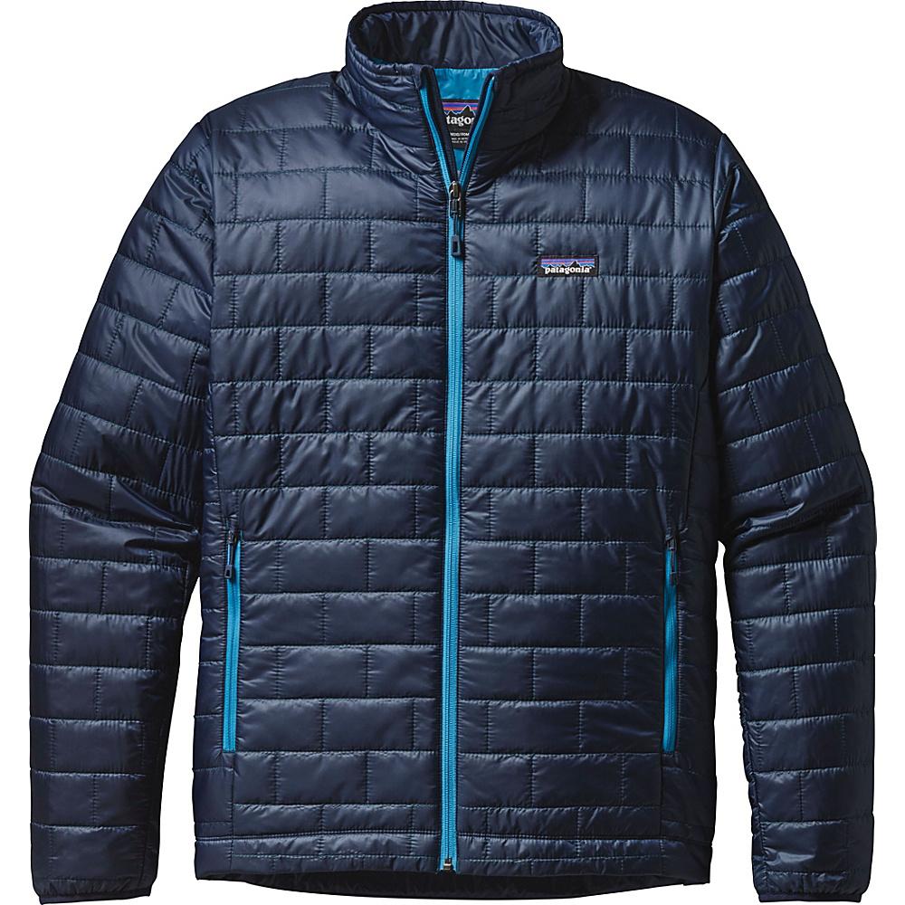 Patagonia Mens Nano Puff Jacket XS - Navy Blue - Patagonia Mens Apparel - Apparel & Footwear, Men's Apparel