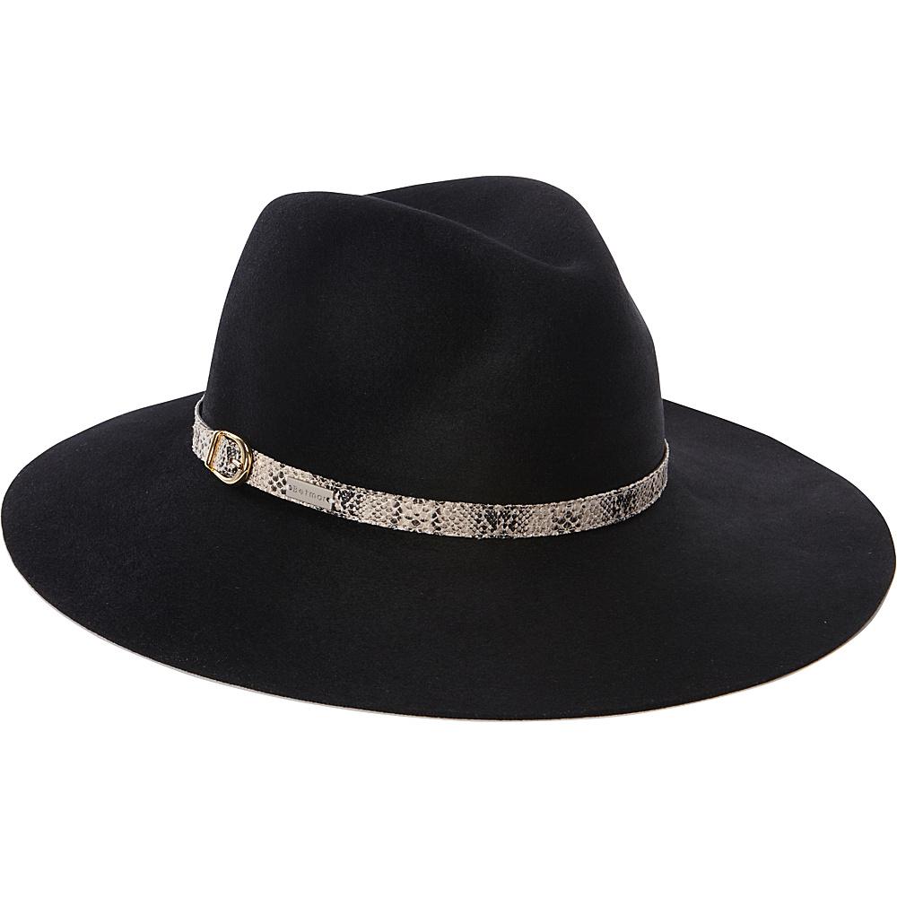 Betmar New York Tessa Fedora Black-Medium/Large - Betmar New York Hats/Gloves/Scarves