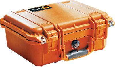 Pelican 1400-000-150 1400 Hard Case Orange With Foam Black - Pelican Camera Accessories