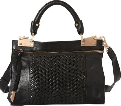 Foley + Corinna Darcy Mini Messenger Black - Foley + Corinna Leather Handbags