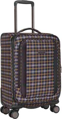 Ben Sherman Luggage Brighton Collection 20 inch Carry-On Black/Mustard - Ben Sherman Luggage Softside Carry-On