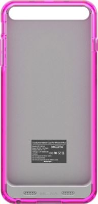 Mota Extended Battery Case iPhone 6 Plus Pink - Mota Electronic Cases