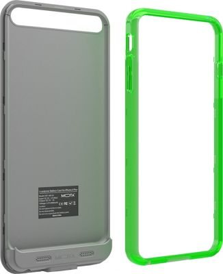Mota Extended Battery Case iPhone 6 Plus Green - Mota Electronic Cases