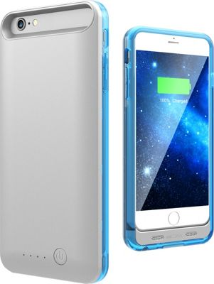 Mota Extended Battery Case iPhone 6 Plus Blue - Mota Electronic Cases
