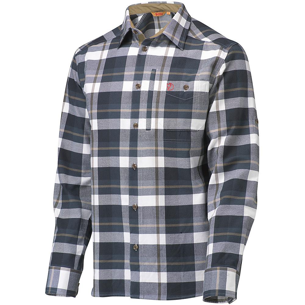 Fjallraven Fjallglim Shirt M - Dark Blue - Fjallraven Mens Apparel - Apparel & Footwear, Men's Apparel