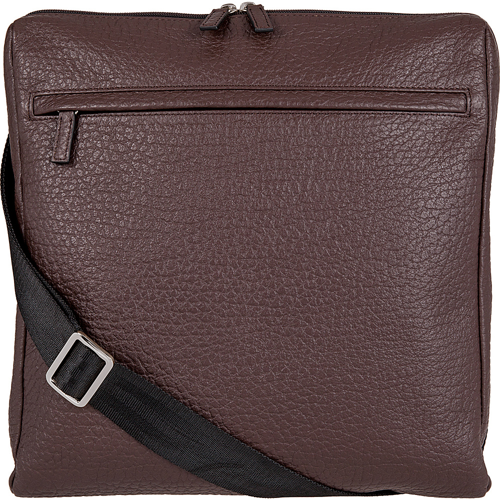 Lodis Borrego Under Lock and Key Jack Large Messenger Dark Brown - Lodis Messenger Bags - Work Bags & Briefcases, Messenger Bags