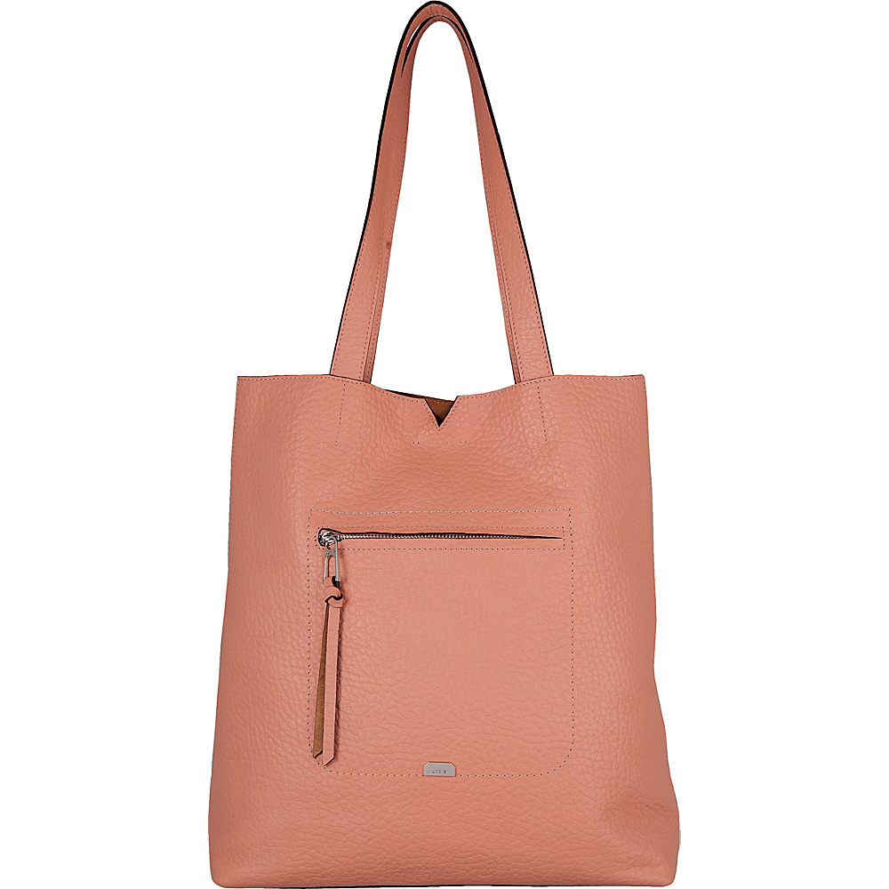 Lodis Borrego Under Lock and Key Madia Large Tote Blush - Lodis Leather Handbags - Handbags, Leather Handbags