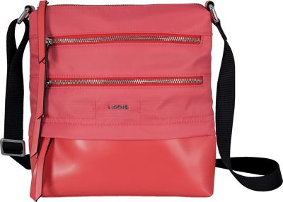 Lodis Kate Nylon Under Lock and Key Wanda Travel Crossbody Rose - Lodis Fabric Handbags
