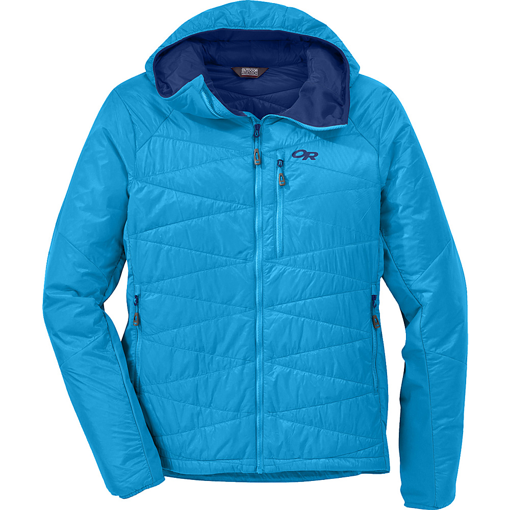 Outdoor Research Cathode Hooded Jacket L - Tahoe - Outdoor Research Mens Apparel - Apparel & Footwear, Men's Apparel