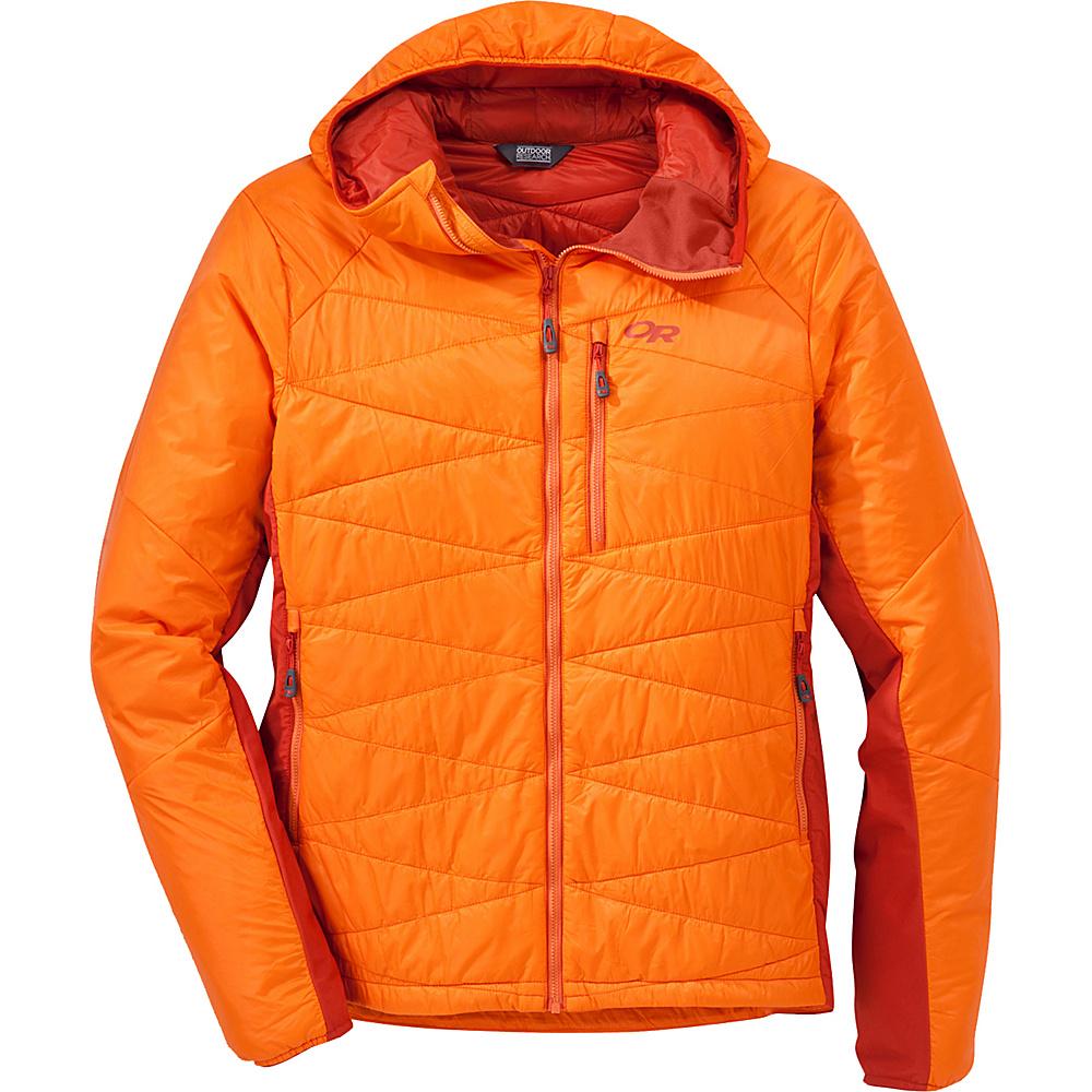 Outdoor Research Cathode Hooded Jacket XL - Bengal/Diablo - Outdoor Research Mens Apparel - Apparel & Footwear, Men's Apparel