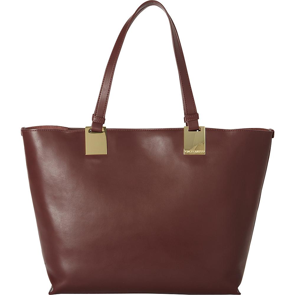 Vince Camuto Keena Tote Black Cherry Vince Camuto Designer Handbags