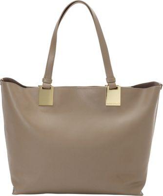 Vince Camuto Keena Tote Smokey Quartz - Vince Camuto Designer Handbags