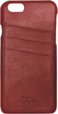S. Taylor London Leather iPhone 6/6S PLUS Case Saddle Brown - S. Taylor London Electronic Cases