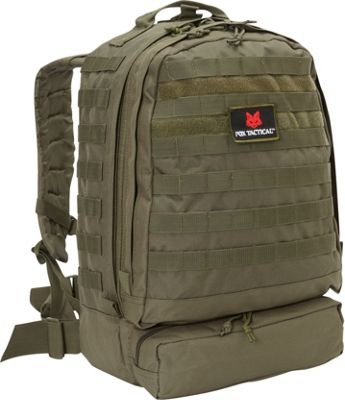 Fox Outdoor 3-Day Assault Pack Olive Drab - Fox Outdoor Day Hiking Backpacks