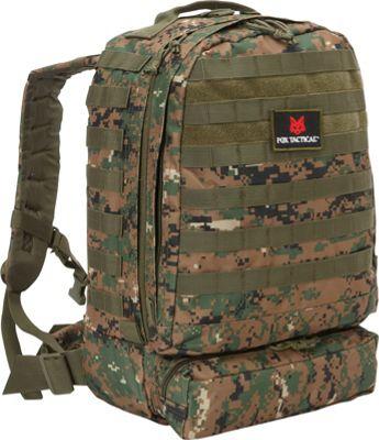 Fox Outdoor 3-Day Assault Pack Digital Woodland - Fox Outdoor Day Hiking Backpacks