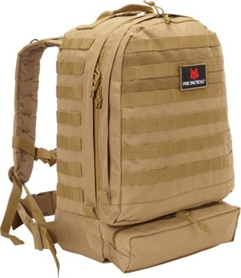 Fox Outdoor 3-Day Assault Pack Coyote - Fox Outdoor Day Hiking Backpacks