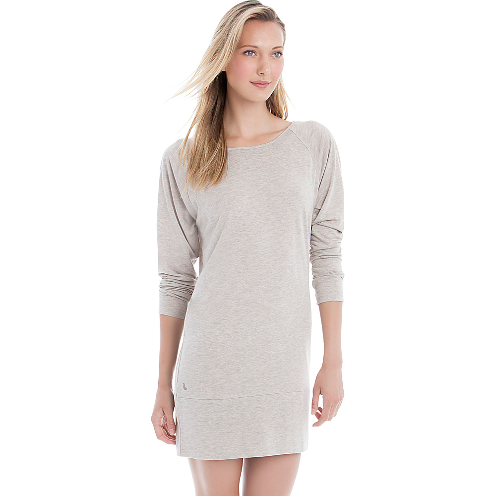Lole Madden Dress S - Cinder Heather - Lole Womens Apparel - Apparel & Footwear, Women's Apparel