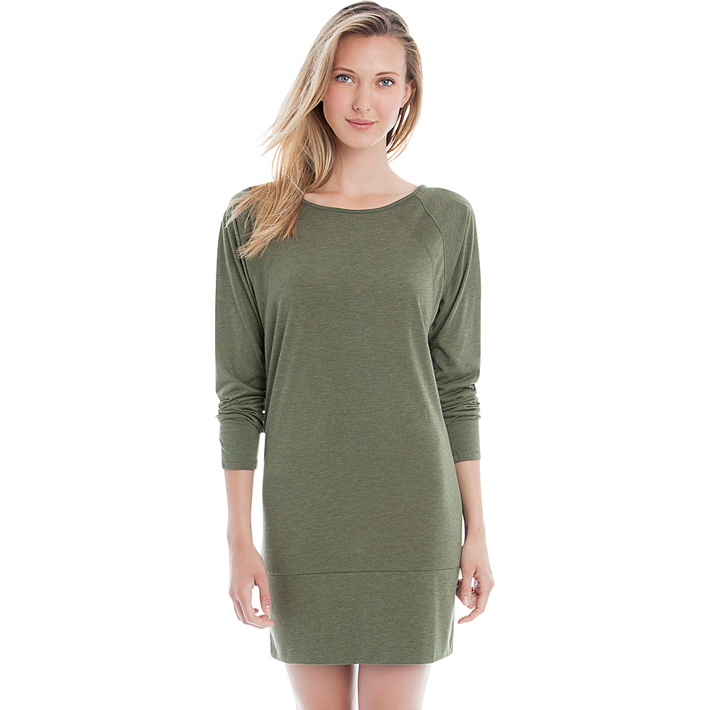 Lole Madden Dress XS - Khaki Heather - Lole Womens Apparel - Apparel & Footwear, Women's Apparel