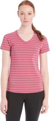 Lole Curl Top S - Red Sea Stripe - Lole Women's Apparel
