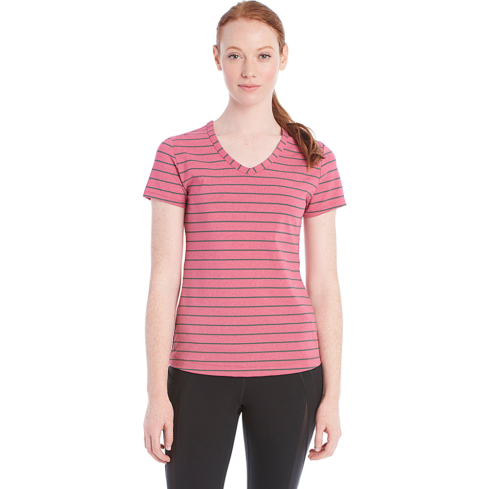 Lole Curl Top M - Red Sea Stripe - Lole Womens Apparel - Apparel & Footwear, Women's Apparel
