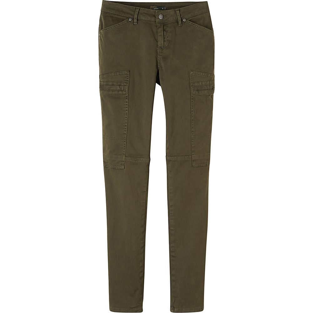 PrAna Louisa Pant Skinny Leg 4 - Dark Olive - PrAna Womens Apparel - Apparel & Footwear, Women's Apparel