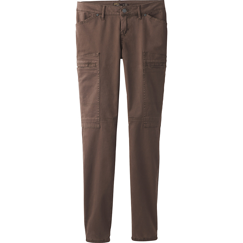 PrAna Louisa Pant Skinny Leg 8 - Coffee Bean - PrAna Womens Apparel - Apparel & Footwear, Women's Apparel