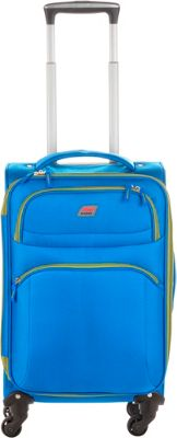 Andare Buenos Aires 20 inch 4 Wheel Spinner Upright Cobalt - Andare Softside Carry-On
