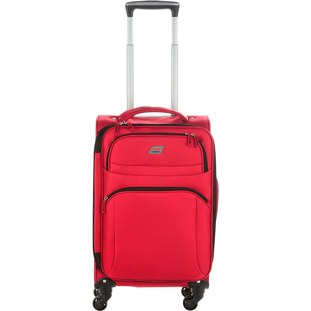 Andare Buenos Aires 20 4 Wheel Spinner Upright Garnet Andare Softside Carry On