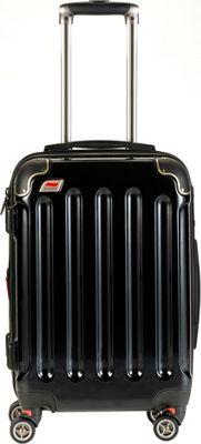 Andare Barcelona 20 inch 8 Wheel Spinner Upright Onyx - Andare Hardside Carry-On