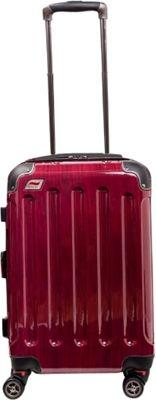 Andare Barcelona 20 inch 8 Wheel Spinner Upright Ruby - Andare Hardside Carry-On