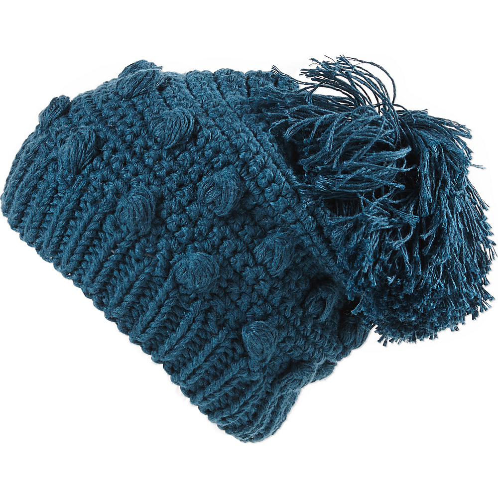PrAna Pammy Beanie One Size - Deep Teal - PrAna Hats/Gloves/Scarves - Fashion Accessories, Hats/Gloves/Scarves