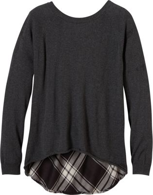 PrAna Natalia Sweater M - Charcoal - PrAna Women's Apparel