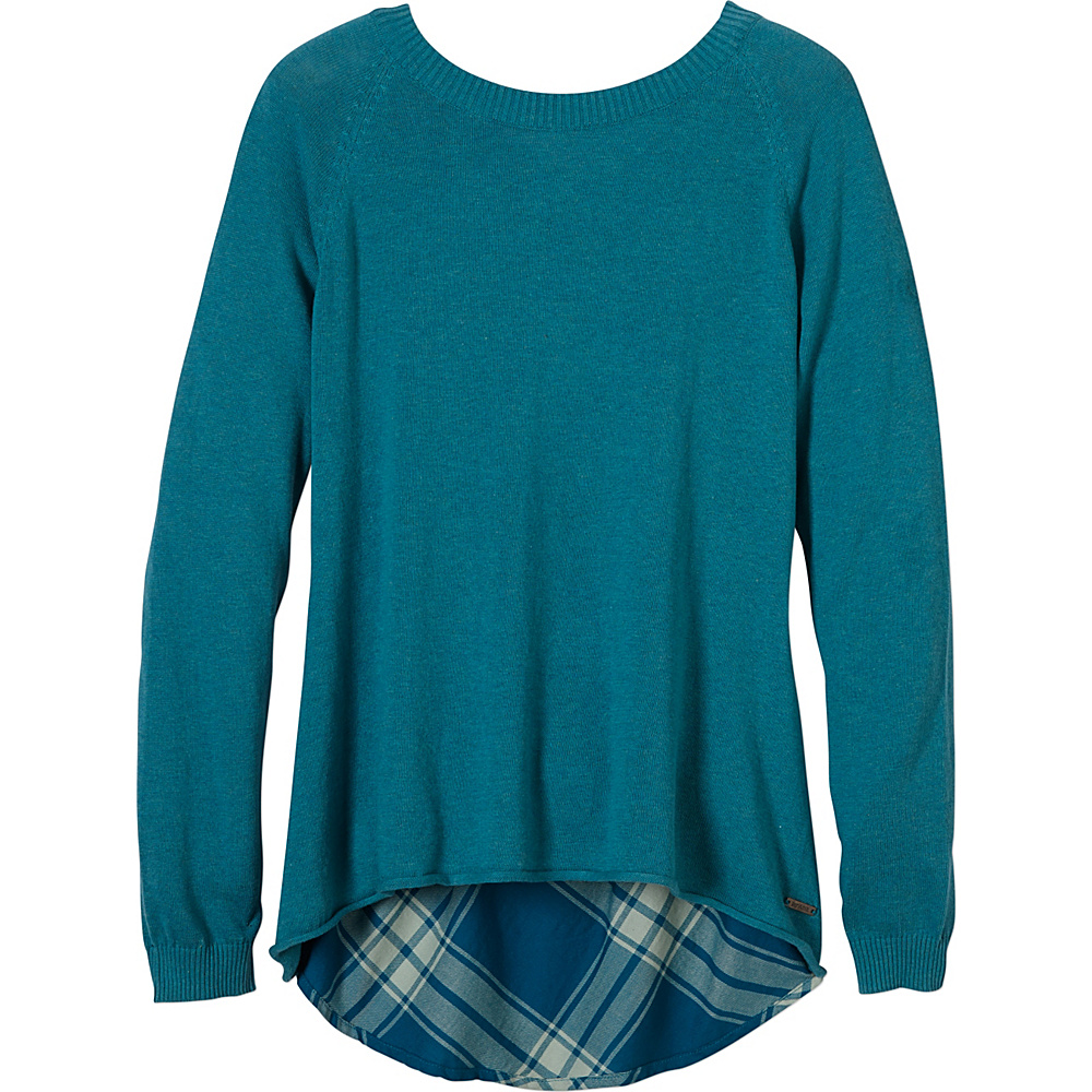 PrAna Natalia Sweater S - Harbor Blue - PrAna Womens Apparel - Apparel & Footwear, Women's Apparel