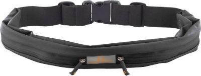 Gear Beast Dual Pocket Waist Pack Running Belt Black - Gear Beast Wearable Technology