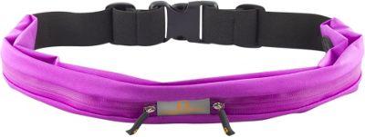 Gear Beast Dual Pocket Waist Pack Running Belt Purple - Gear Beast Wearable Technology