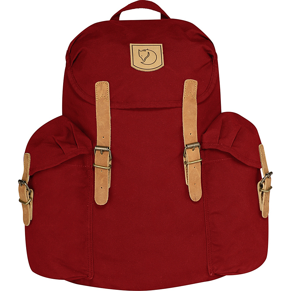 Fjallraven Ovik Backpack 15 Deep Red - Fjallraven Everyday Backpacks - Backpacks, Everyday Backpacks