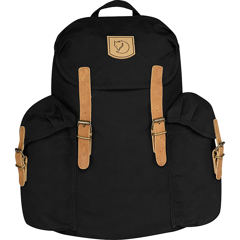 Fjallraven Ovik Backpack 15 Black - Fjallraven Everyday Backpacks - Backpacks, Everyday Backpacks