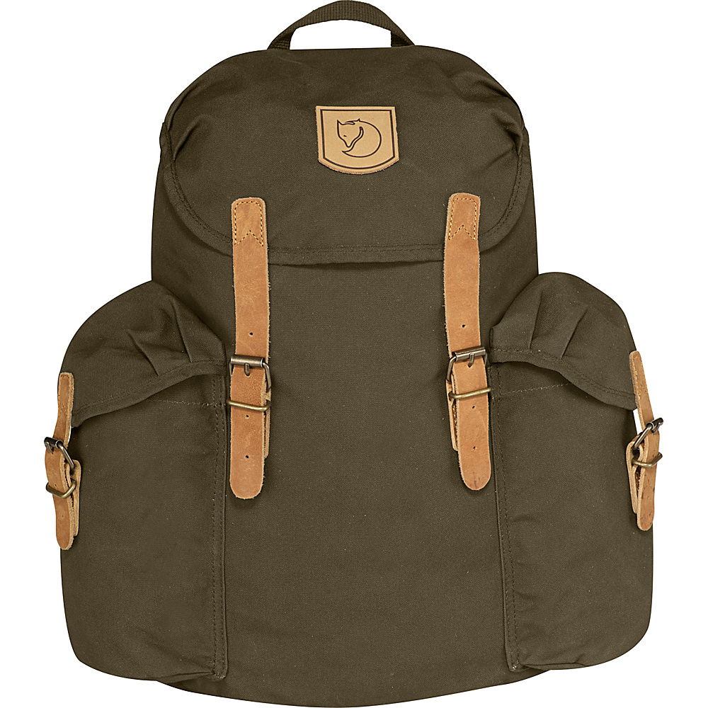 Fjallraven Ovik Backpack 15 Dark Olive - Fjallraven Everyday Backpacks - Backpacks, Everyday Backpacks