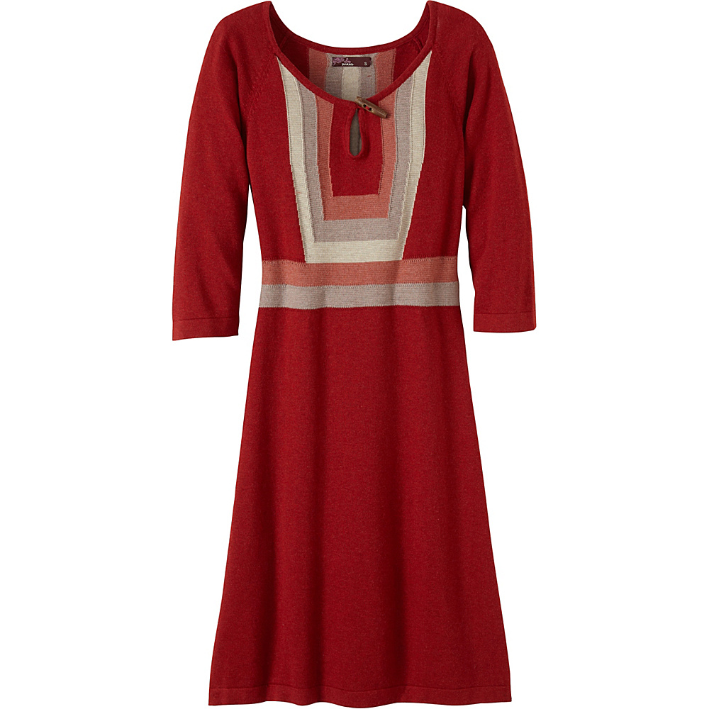 PrAna Yarrah Dress M - Sunwashed Red - PrAna Womens Apparel - Apparel & Footwear, Women's Apparel