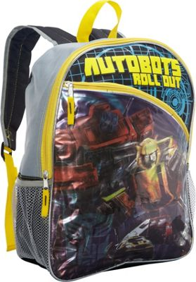 Transformers Autobots Roll Out Backpack Yellow - Transformers Everyday Backpacks