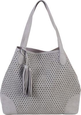 BUCO Grand Metro Tote Grey - BUCO Manmade Handbags