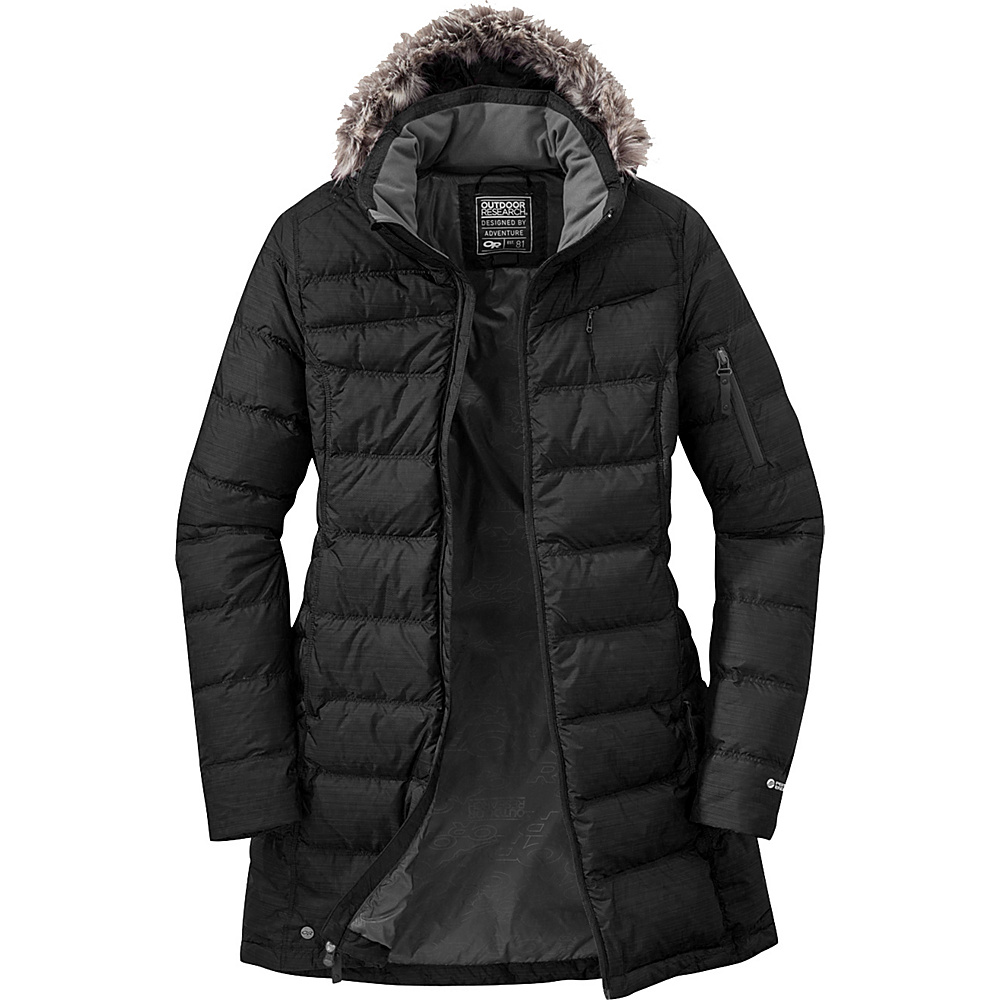 Outdoor Research Womens Fernie Down Parka M - Black - Outdoor Research Womens Apparel - Apparel & Footwear, Women's Apparel