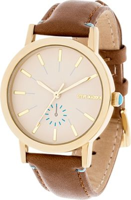 steve madden watches simple pop leather 2 colors ebay