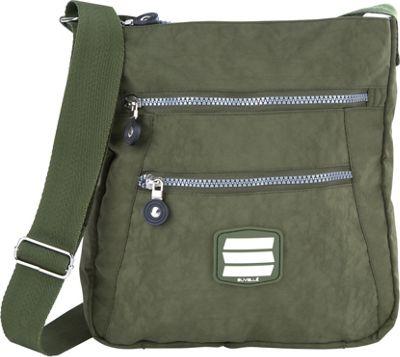 Suvelle Go-Anywhere Crossbody Khaki - Suvelle Fabric Handbags