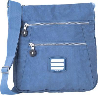 Suvelle Go-Anywhere Crossbody Denim Blue - Suvelle Fabric Handbags