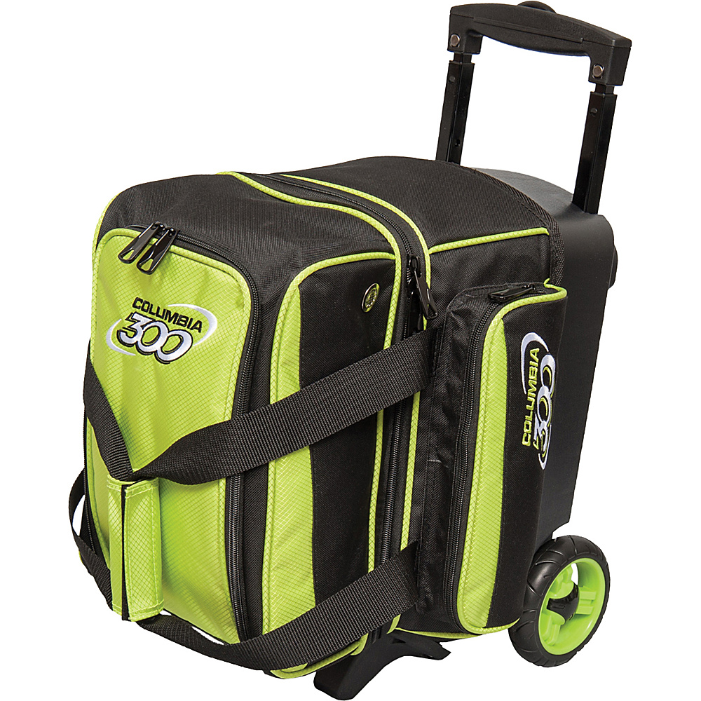 Columbia 300 Bags Icon Single Roller Lime Columbia 300 Bags Bowling Bags